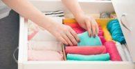 como ordenar un armario minimalismo