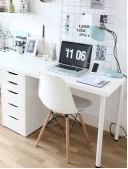 como ordenar un escritorio minimalista